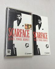 SCARFACE MONEY. POWER. RESPECT.  PSP   USATO