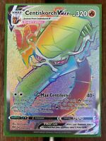 Pokemon Card  CENTISKORCH VMAX  Secret Rare 191/189 DARKNESS ABLAZE *MINT*