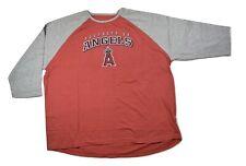 Majestic Big & Tall Mens MLB Los Angeles Angels Shirt New 2XL, 2XT, 3XL, 4XT,5XL