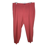 Old Navy Womens Pants Crop Ankle Harper Mid Rise Bottoms Slacks Stretch Size 12