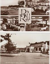 2 Rob Roy Highland Hotel Aberfoyle unused RP old postcards