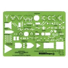 Alvin TD1279 Electric/Electronic Template NEW