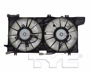 TYC 623470 Dual Rad&Cond Fan Assy for Subaru Legacy/Outback 2.5L 2015-2019 Model