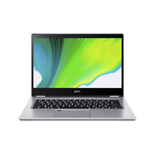 """Acer Spin 3 SP314 14"""" (512GB SSD, Intel Core i7 10th Gen., 3.90 GHz, 8GB) Laptop - Pure Silver - NX.HQ7AA.00A"""