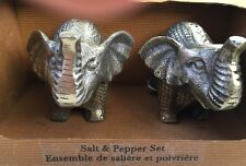 Elephant Salt And Pepper Set Esemble De Saliere Et Poivriere