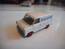 """Schuco Ford Transit """"Dolks-Zeitung"""" in White on 1:66"""