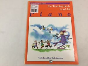 Alfred's Basic Piano Library - Ear Training Book - Level 1A - 14736 - (E)