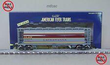 American Flyer (High Rail) 6-48653 Lackawanna DL&W Cylindrical Hopper Car