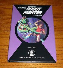 Magnus Robot Fighter Archives Volume 3 NEW Gold Key Comics Dark Horse hardcover