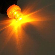 5x amber T10 5W wedge globes LED Car Light Bulbs