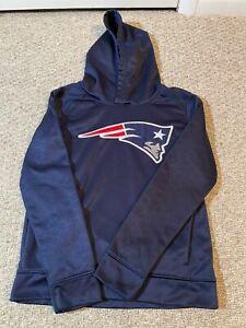 Boys New England Patriots Hoodie Sweatshirt Sz Youth