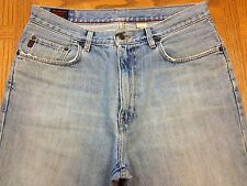 ABERCROMBIE & FITCH BOOT VINTAGE USA JEANS HEMMED TO SZ 35 x 27 Tag 32 x 30 O16u
