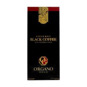 ( 1 Box ) Organo Gold Gourmet Black Coffee Ganoderma  30 Sachets US EXPEDITED