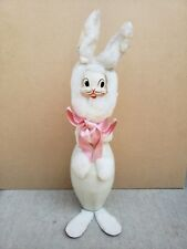 Vintage Retro Easter Bunny Rabbit Bowling Pin Home Decor Holiday Decoration