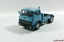 MAZ-504V truck tractor of 1977 year (blue). Scale model of the car 1/43.
