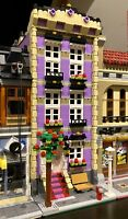 LEGO CUSTOM MODULAR BUILDING TOWN HOUSE fits with 10218 10246 10251 MOC 577