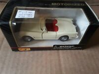 1953 Chevy Corvette 1/38 Scale White Die Cast Maisto Car Model Toy