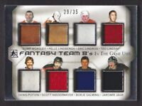 2015-16 ITG Used Fantasy Team 8's Jersey Gump Worsley/Pelle Lindbergh 29/35