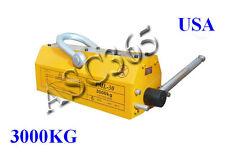6614lb High Quality Steel Magnetic Lifter Crane Hoist Lifting Magnet 3000 Kg