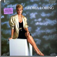 Gloria Loring - Gloria Loring - New 1986 Atlantic LP Record! Friends & Lovers