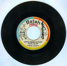 Philippines RAMON JACINTO & THE RIOTS Santa Bring My Baby... OPM 45 rpm Record