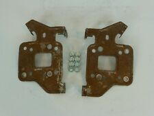NISSAN FRONTIER OEM RADIO CD PLAYER HEAD UNIT RECEIVER MOUNTING BRACKETS