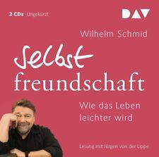 WILHELM SCHMID - SELBSTFREUNDSCHAFT-WIE DAS LEBEN LEICHTER WIRD  2 CD NEU