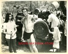 "Jock Mahoney Tarzan Goes To India Original 8x10"" Photo #M2532"