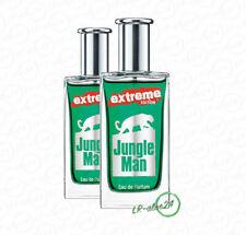 (46,90€/100 ml) LR 2 x 50 ml Jungle Man Extreme Herren Eau de Parfum