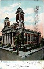 Postcard AL Mobile Raphael Tuck - Cathedral No 2355 1906 L7