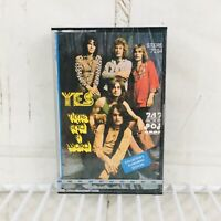 Yes Time And A Word Cassette Tape 747 Rock