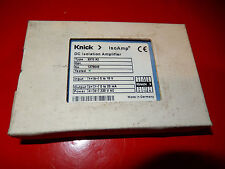 Knick IsoAmp, DC Isolation Amplifer 3310 A2, Input 0 to 10V; Output 0 to 20mA