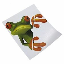 Vinyl Funny Frog Car Truck Sticker Decal,Window,Bike Helmets,Amusing,Frog,Toad