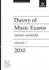 ABRSM Theory of Music Exams, Grade 7, 2010 Model Answers AB93001