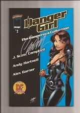 DANGER GIRL THE DANGEROUS COLLECTION VOL. 2 NM 9.4/9.6 NM+ GOLD FOIL (DF) SIGNED