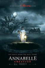 "ANNABELLE CREATION - 11.5""x17"" Original Promo Movie Poster MINT 2017 Horror"