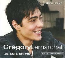 GREGORY LEMARCHAL - Je suis en vie - Edition limitée - Digipack