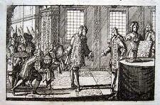Queen Anne ehrt John Churchill Duke Marlborough Battle of Blenheim / Höchstädt