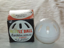 VINTAGE TOY 1970S BASEBALL SCOTT McGREGOR BALTIMORE ORIOLES WIFFLE BALL IN BOX