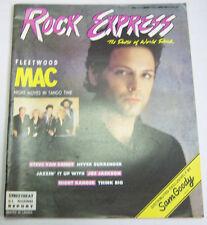 Rock Express Magazine Fleetwood Mac, Steve Van Zandt Vol.11 No.114 032913R