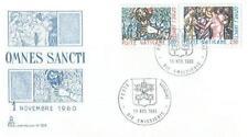 Vatican 1980 Mi FDC 775-76c All Saints' Day