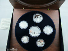 2005 Australian FINE SILVER PROOF SET. 60th Anniversary of end WWII. Dancing Man