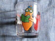 Nutella bicchiere da collezione originale SERIE BARBAPAPA'