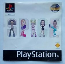 ***FRONT INLAY ONLY** Spice World Spice Girls Playstation One 1 PSOne PS1 PS PSX