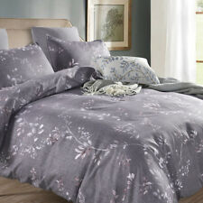 Bedding Set Pillowcases Print Duvet Quilt Cover Bedclothes Microfiber Fabric New