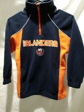 New York Islanders Pullover Fleece Shirt Youth Kids Small 8 Reebok