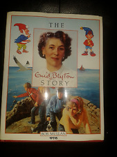 THE ENID BLYTON STORY Bob Mullan 1987 Hardback with dust cover Gd Cond P&Pinc