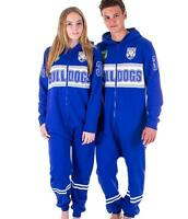 NRL Onesie Footy Suit - Canterbury Bulldogs Infant Kids Youth Adult - All Sizes