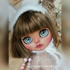 Custom Blythe doll Sweet Bunny, ooak blythe, blythe doll, blythe
