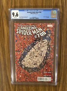 Amazing Spider-Man #700 CGC 9.6 Unpressed  Marvel Comics 2013 🔥 🔑